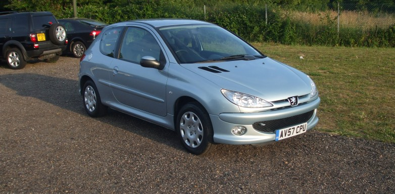 peugeot 206 1 4 look 07 reg sold ymark vehicle services. Black Bedroom Furniture Sets. Home Design Ideas
