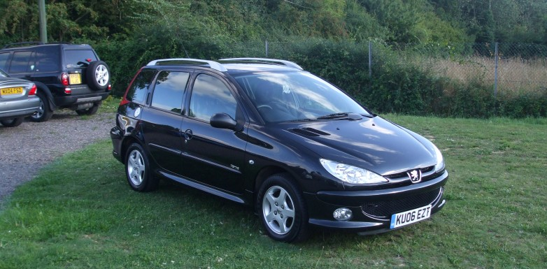peugeot 206 1 4 hdi sw 06 reg sold ymark vehicle services. Black Bedroom Furniture Sets. Home Design Ideas