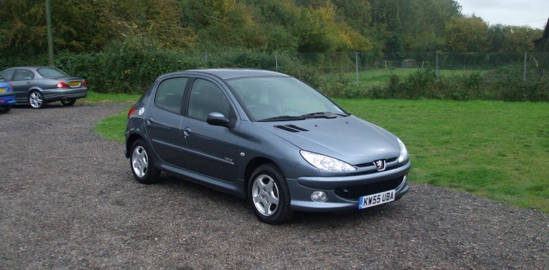 peugeot 206 1 4 verve 55reg sold ymark vehicle services. Black Bedroom Furniture Sets. Home Design Ideas