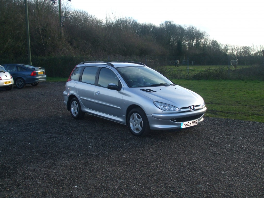 peugeot 206 1 4 hdi sw 05 reg sold ymark vehicle. Black Bedroom Furniture Sets. Home Design Ideas