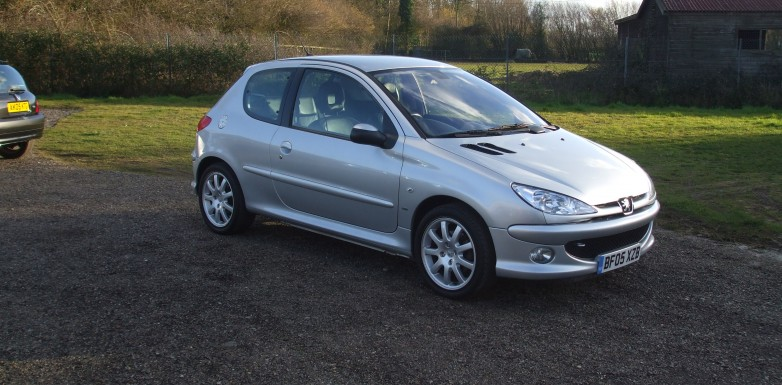 peugeot 206 1 6 hdi gti 05 reg sold ymark vehicle services. Black Bedroom Furniture Sets. Home Design Ideas