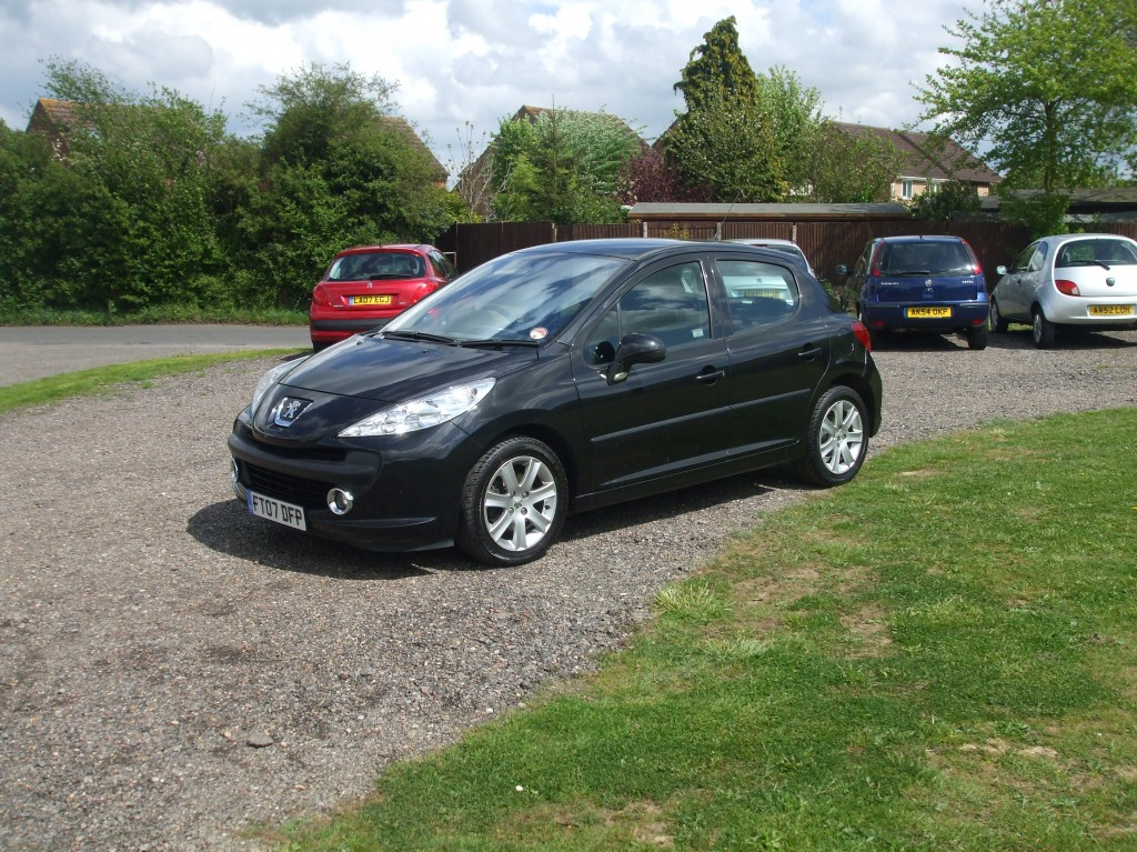 peugeot 207 1 6 hdi 90 sport 07 reg sold ymark vehicle services. Black Bedroom Furniture Sets. Home Design Ideas