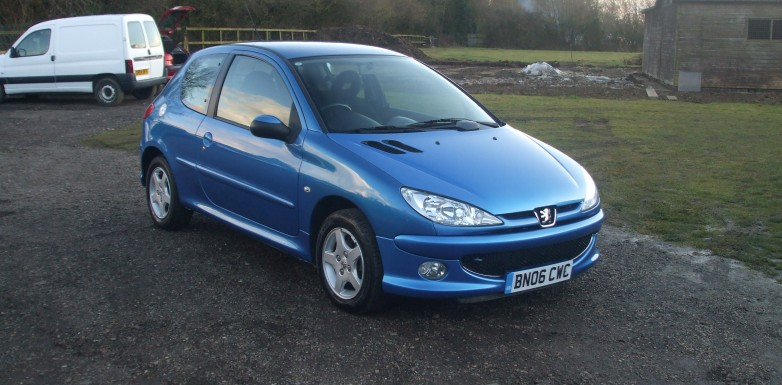 peugeot 206 1 1 sport 06 reg sold ymark vehicle services. Black Bedroom Furniture Sets. Home Design Ideas