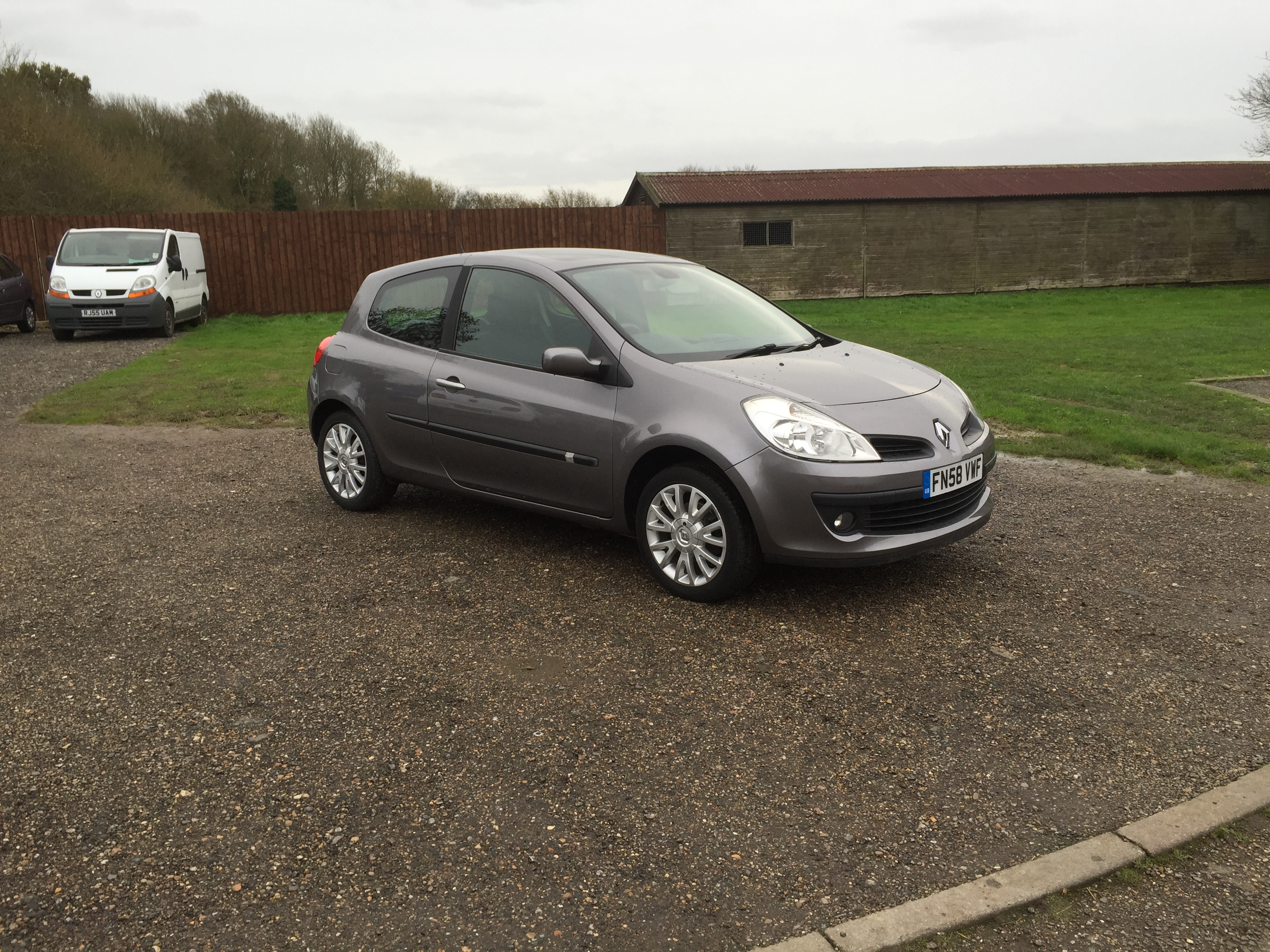 renault clio 1 2 dynamique tce 58 reg sold ymark vehicle services. Black Bedroom Furniture Sets. Home Design Ideas