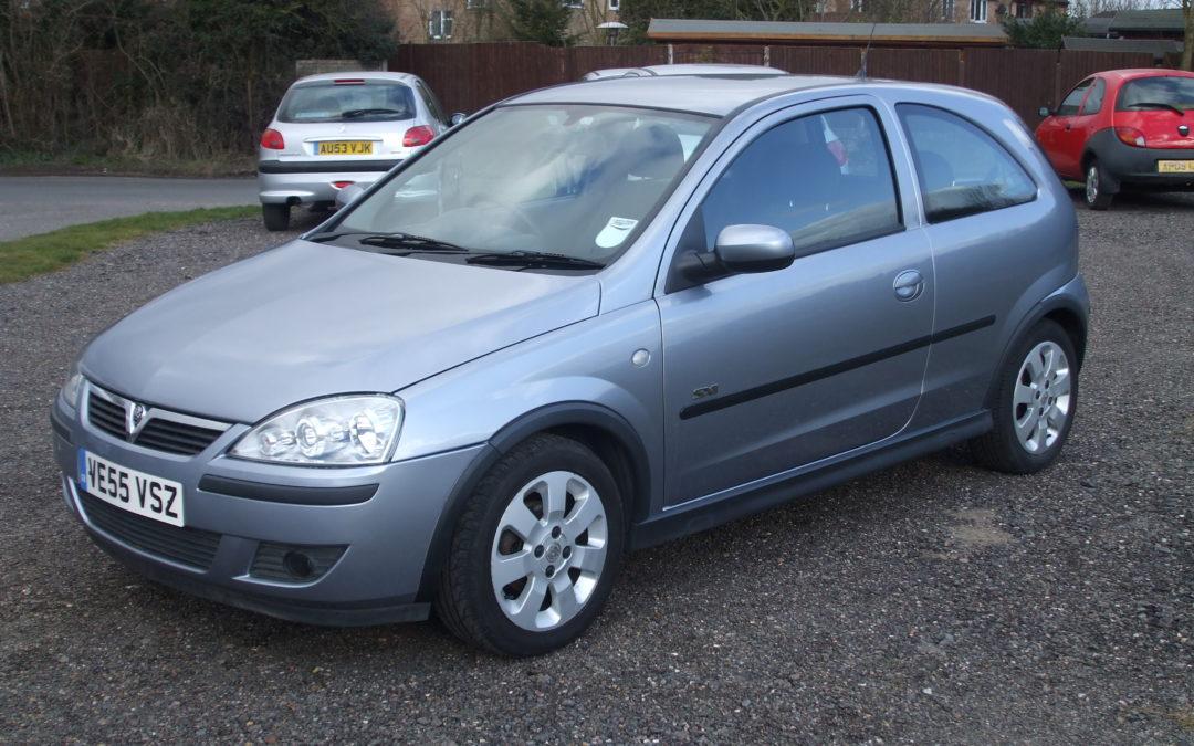 Vauxhall Corsa  1.2i 16V SXi (55 reg) – Sold