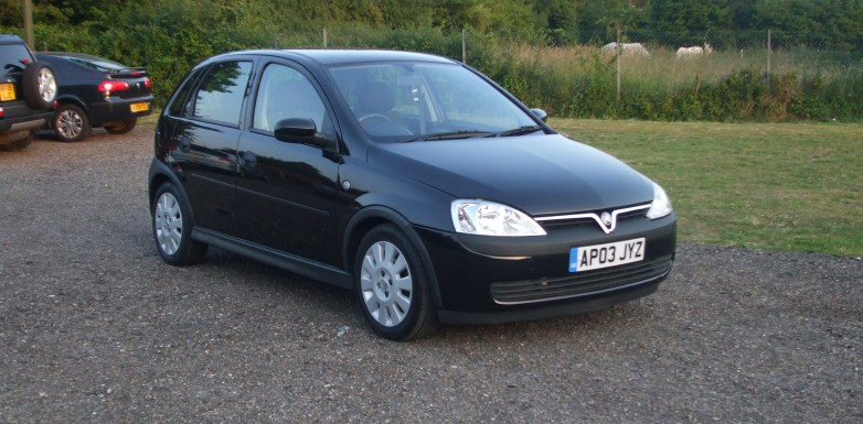 Vauxhall Corsa 1.0 Active (03 Reg) – SOLD