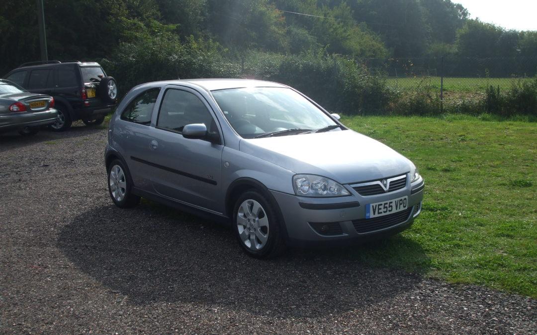 Vauxhall Corsa 1.2 SXI (55 Reg) – SOLD