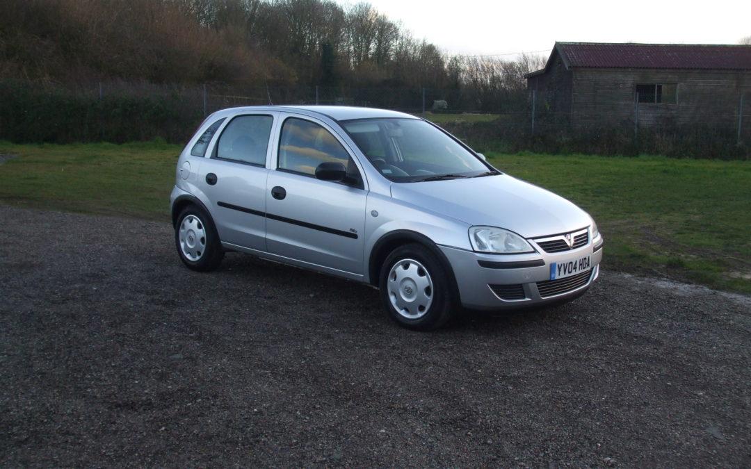 Vauxhall Corsa 1.3 CDTI (04 Reg) – Sold