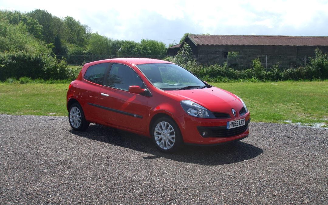 Renault Clio 1.4 Dynamique S (06 Reg) – Sold