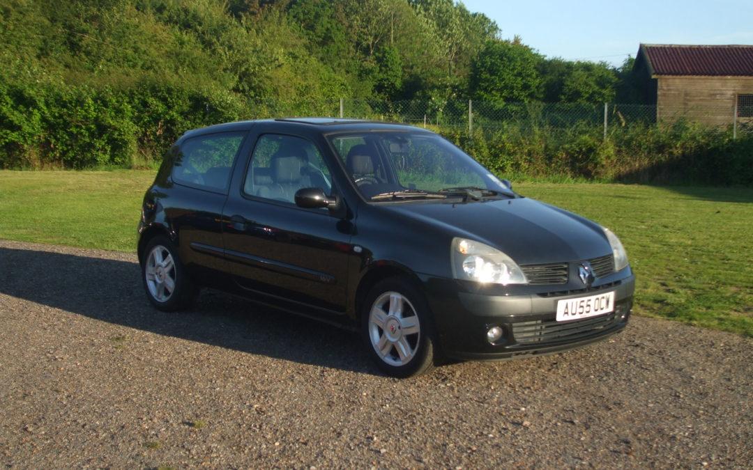 Renault Clio 1.2 Dynamique (05 Reg) – Sold