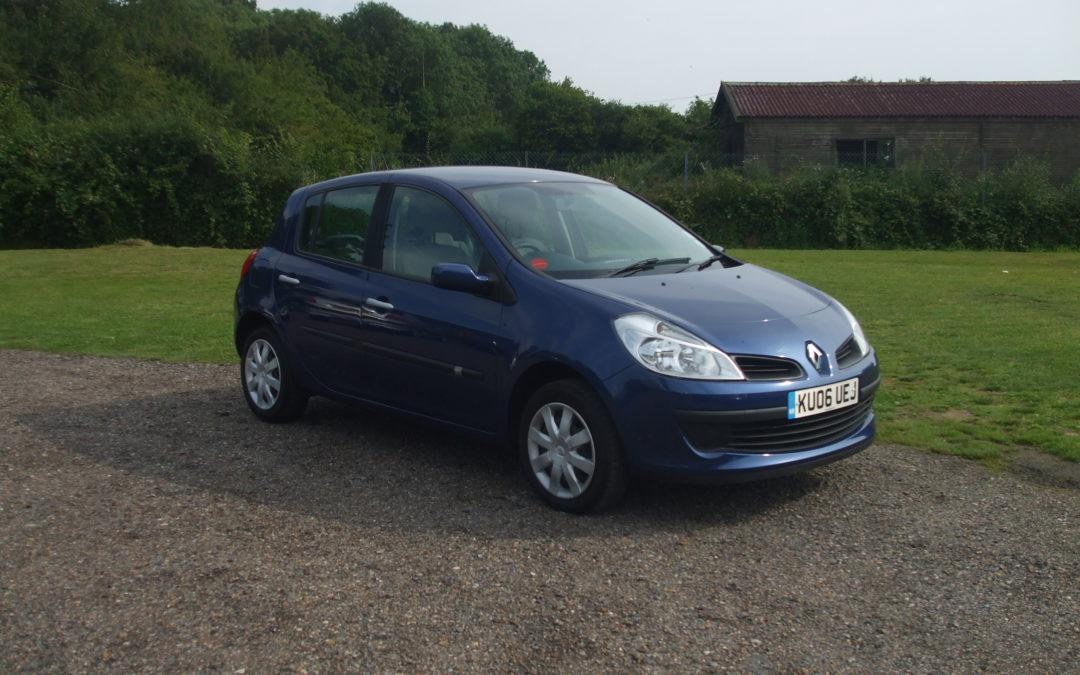 Renault Clio 1.2 Dynamique (06 Reg) – Sold