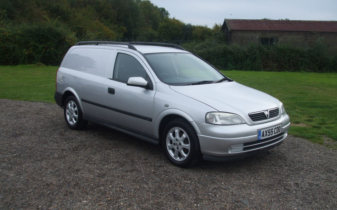 Vauxhall Astra 1.7 CDTi Sporting Van (55 Reg) – Sold