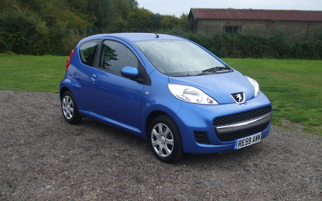 Peugeot 107 1.0 Urban (59 Reg) – Sold