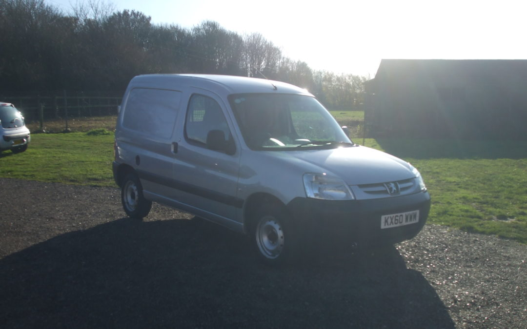 Peugeot Partner 1.6 HDI Panel Van (10 Reg) – Sold
