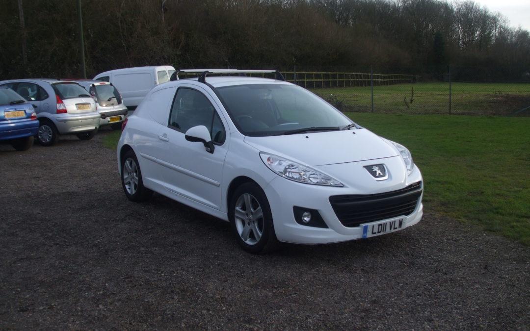 Peugeot 207 1.4 HDI Panel Van (11 Reg) Sold
