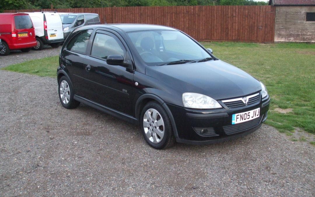 Vauxhall Corsa 1.2 SXi (05 Reg) – Sold