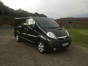 Vauxhall Vivaro 6 Seater Crew Cab (14 Reg) – Sold