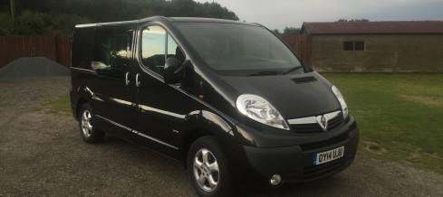 Vauxhall Vivaro 6 Seater Crew Cab (14 Reg) – £8995+VAT