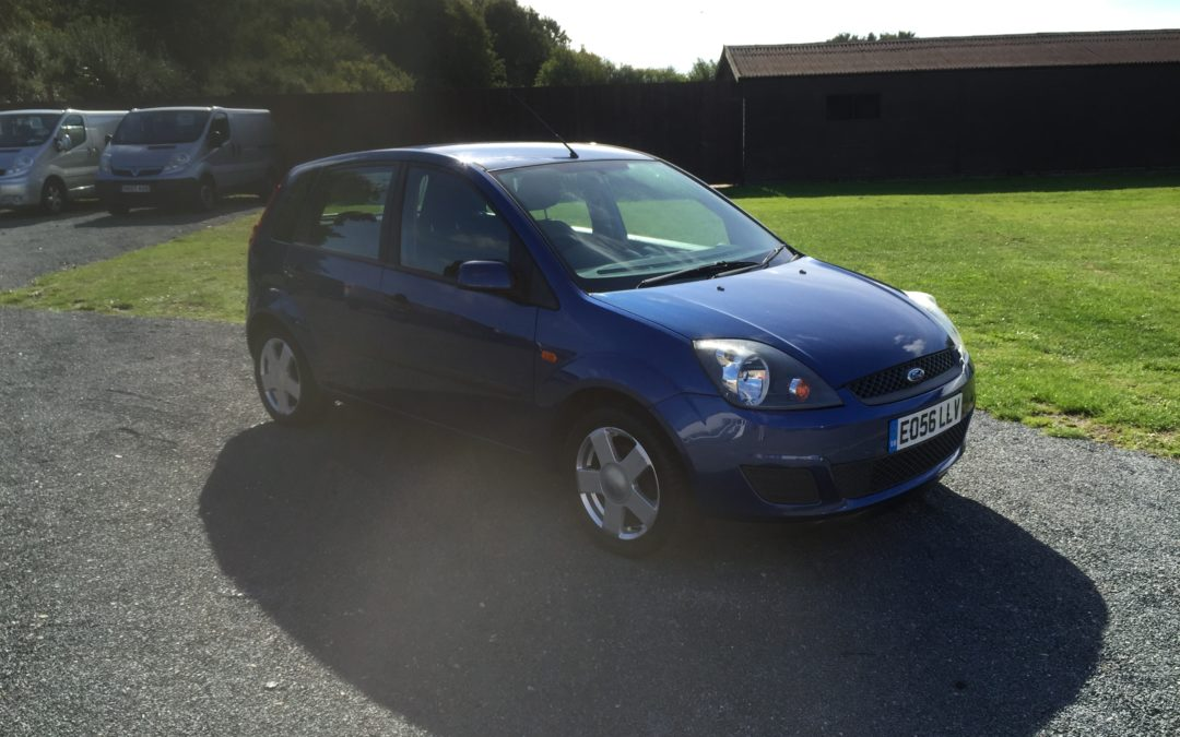 Ford Fiesta 1.2 Style Climate (56 Reg) – Sold