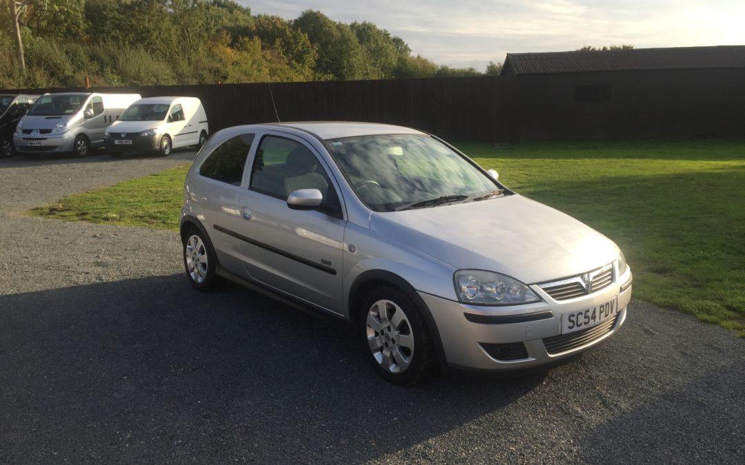 Vauxhall Corsa 1.2 SXI (54 Reg) – Sold