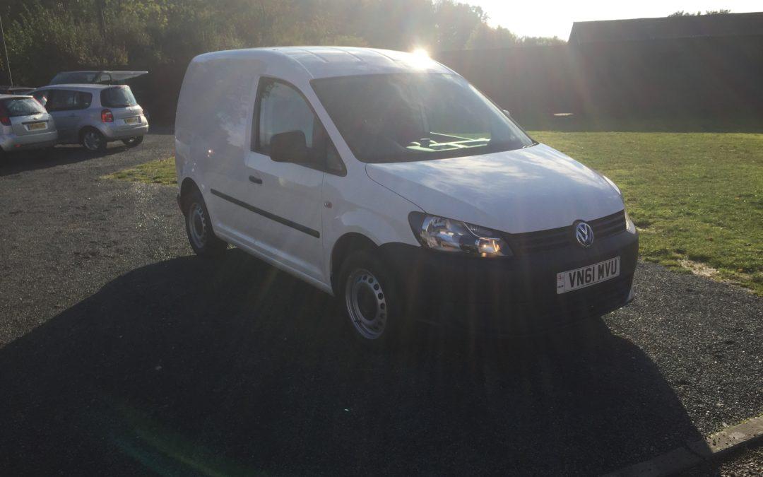 Volkswagen Caddy SWB Van (61 Reg) – £5495+VAT