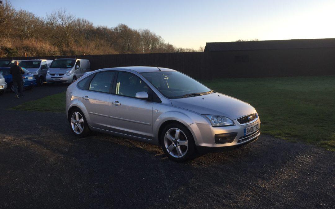 Ford Focus 1.6 Zetec Climate (08 Reg) – Sold