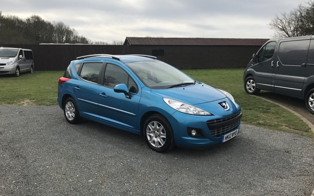 Peugeot 207 SW 1.6 HDI Active (12 Reg) – Sold