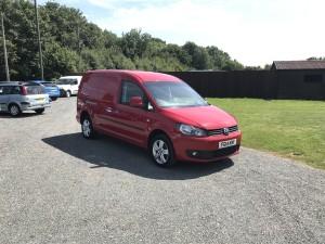 Volkswagen Caddy LWB Van  (14 Reg) – Sold