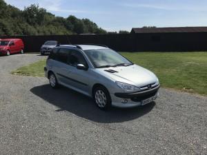 Peugeot 206 1.4 HDI SW (55 Reg) – Sold