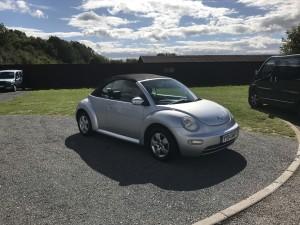 Volkswagen Beetle 1.4 Cabriolet (04 Reg) – Sold