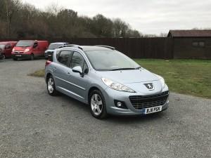 Peugeot 207 1.6 HDI SW S (11 Reg) – Sold