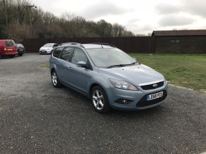 Ford Focus 1.6 TDCi Zetec Estate (58 Reg) – Sold