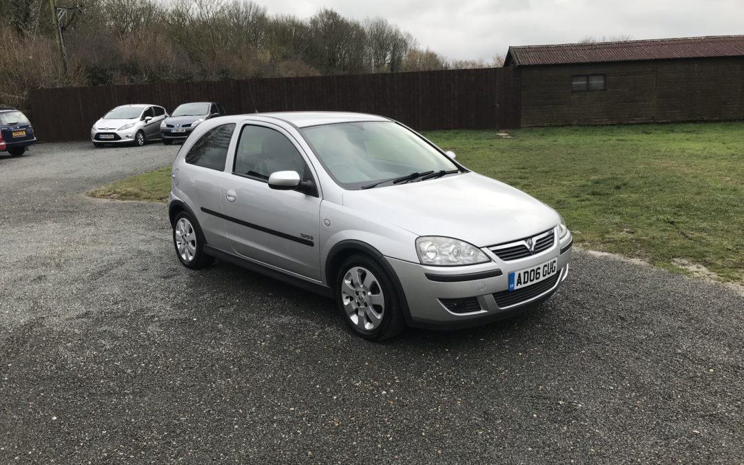 Vauxhall Corsa 1.2 SXI+ (06 Reg) – Sold