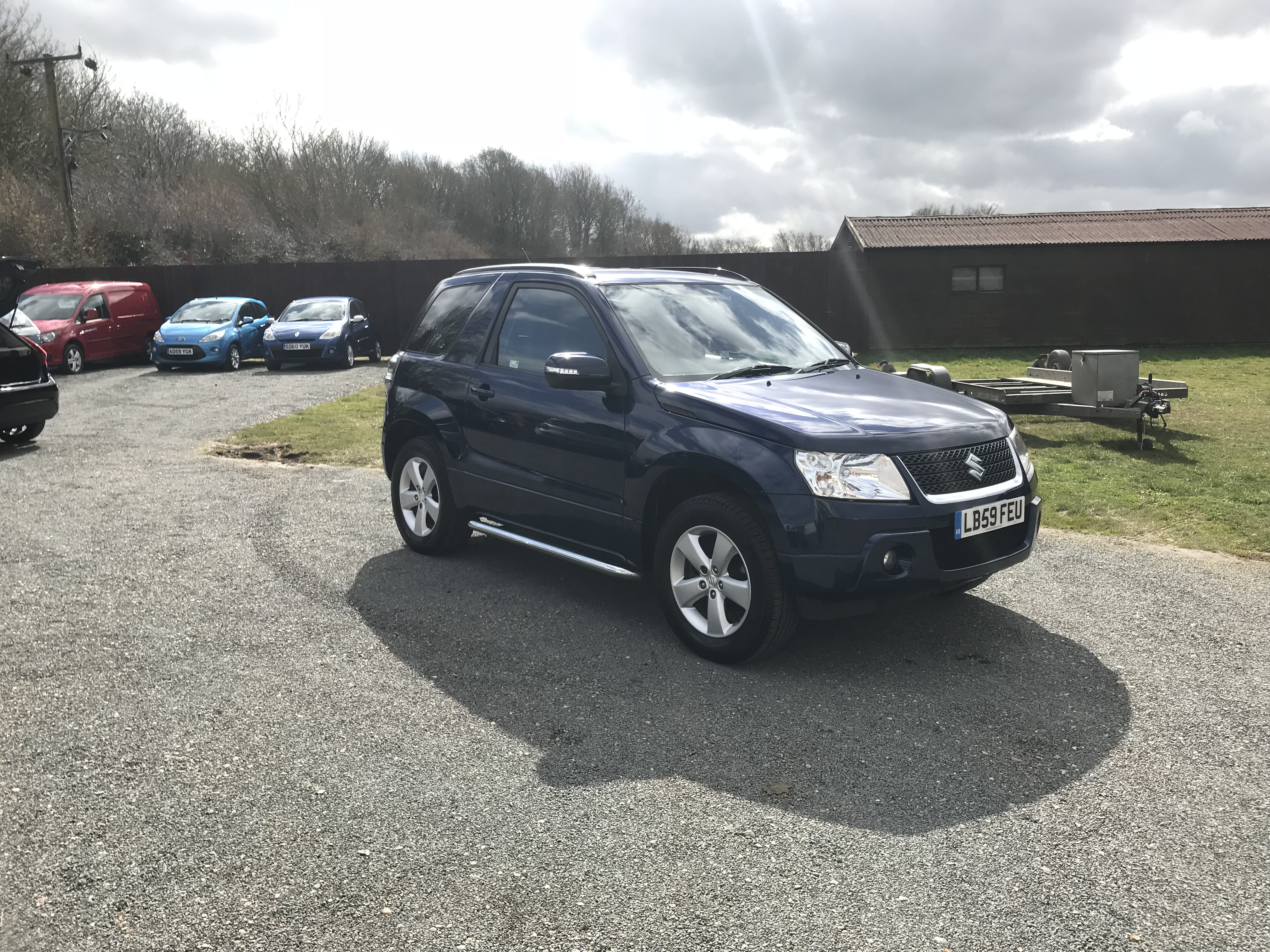 Suzuki Grand Vitara 1.6 SZ4 4×4 (59 Reg) – Sold