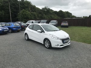 Peugeot 208 1.2 Active (62 Reg) – Sold