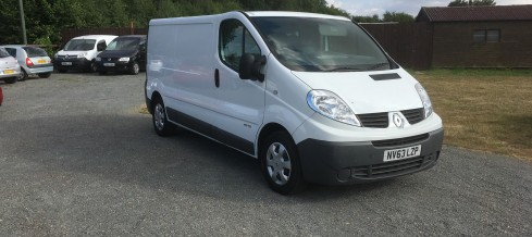 Renault Trafic LWB 2.0 DTI (63 Reg) – Sold