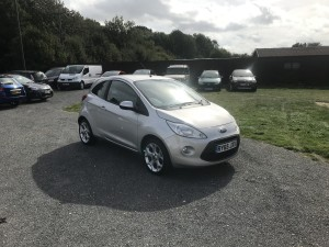 Ford Ka 1.2 Zetec (65 Reg) – Sold