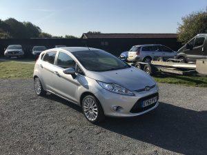 Ford Fiesta 1.4 Titanium TDCI (62 Reg) – Sold