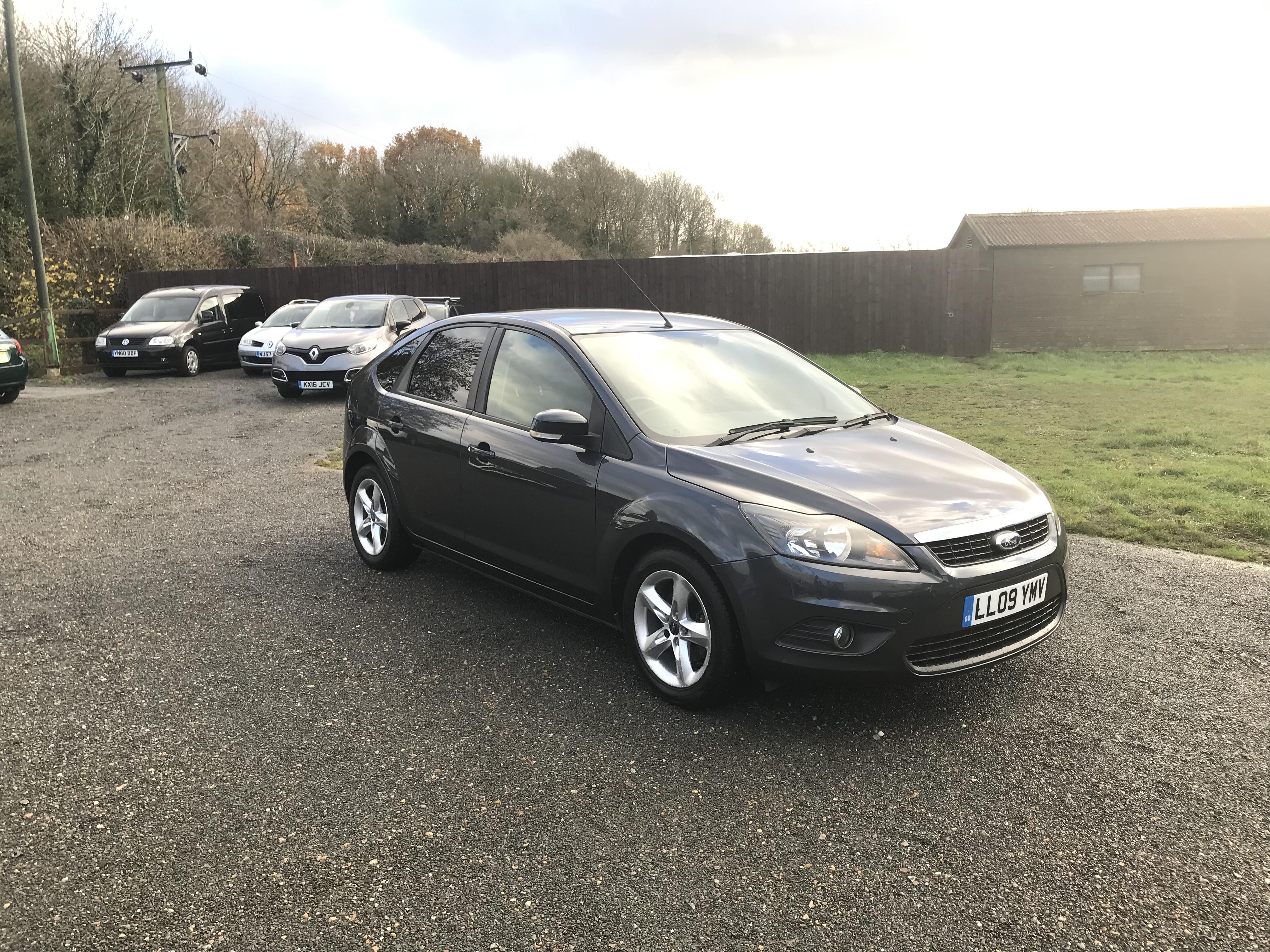 Ford Focus 1.6 Zetec (09 Reg) – Sold
