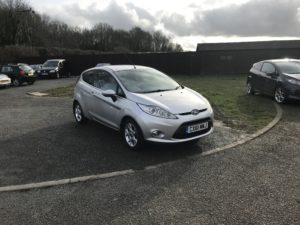 Ford Fiesta 1.2 Zetec (61 Reg) -Sold