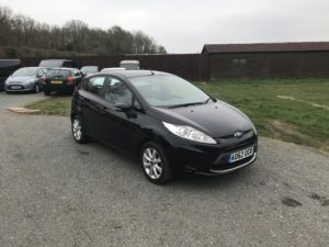 Ford Fiesta 1.2 Edge (62 Reg) – Sold