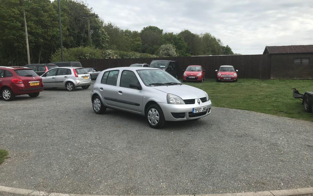 Renault Clio 1.2 Campus (07 Reg) – Sold