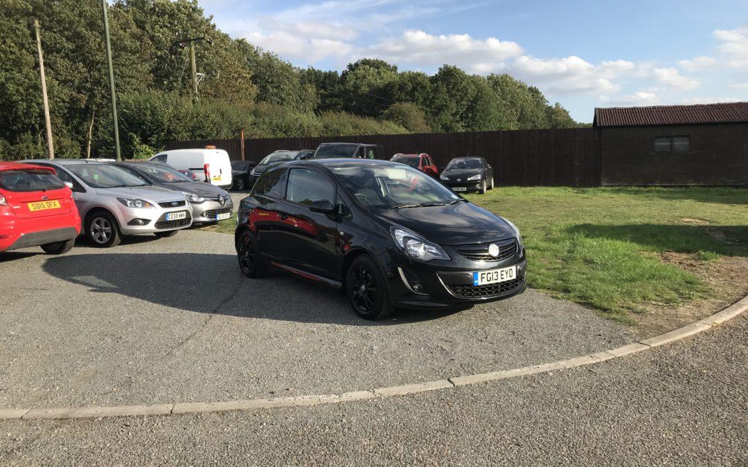Vauxhall Corsa 1.3 CDTI Sportive Van (13 Reg) – £3495+VAT