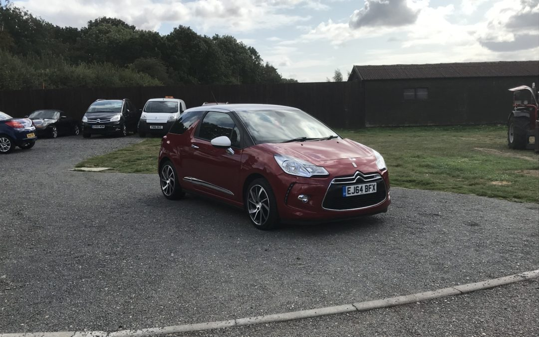 Citroen DS3 1.6 HDI DStyle (64 Reg) – Sold