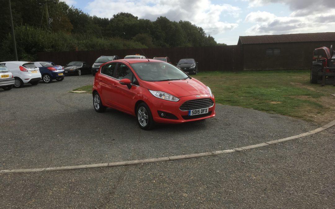 Ford Fiesta 1.0 Ecoboost Zetec (15 Reg) – Sold