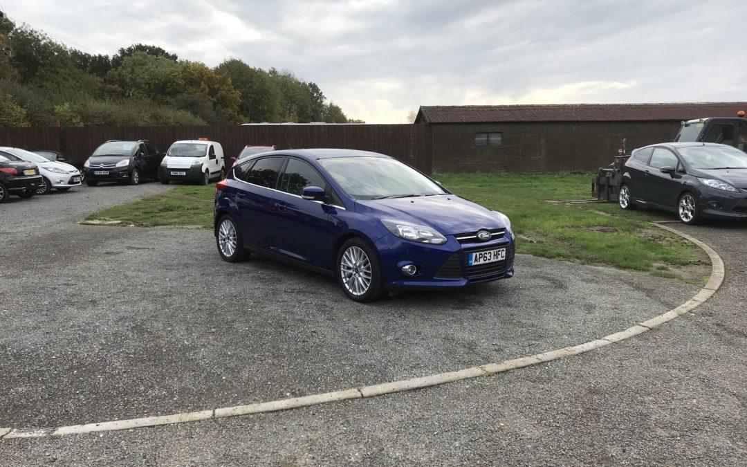 Ford Focus 1.6 TDCI Zetec Navigator (63 Reg) – Sold