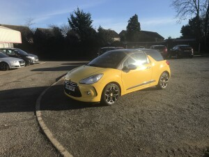 Citroen DS3 DSport 1.6 HDI (10 Reg) – £3195