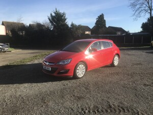 Vauxhall Astra 1.6 Excite (15 Reg) – Sold