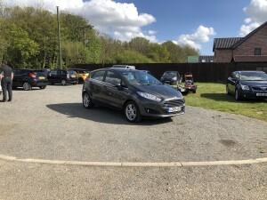Ford Fiesta 1.25 Zetec (65 REG) – £5195
