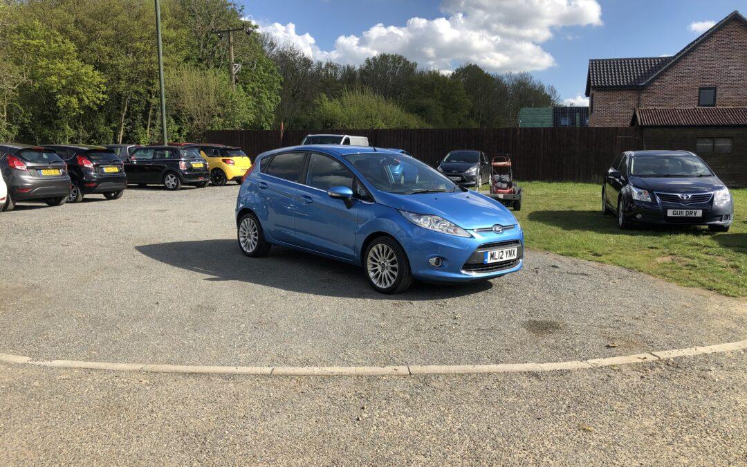 Ford Fiesta 1.4 TDCI Titanium (12 Reg) – £4195